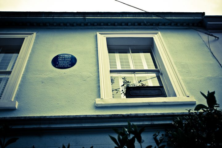 Orwell lived here